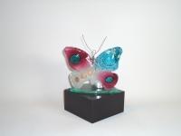vlinder-urn met waxinelichtje