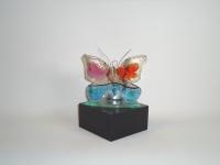 vlinder-urn met kaarsje