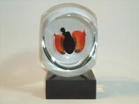 Glazen mini-urn foetus - baby prematuur - gedenkobject