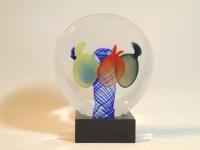 Urn mini - glazen gedenkobject verbondenheid