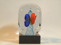 Glazen urn - verbondenheid - gedenkobject