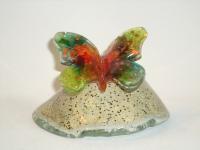 Mini-urn vlinder voor gedenkplekje kind