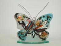 Vlinder met kaarsje - gedenkobject