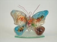 Gedenkobject-kaarshouder vlinder