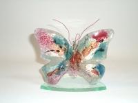 Gedenkobject baby-kind - vlinder