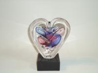 Mini-urn hartvorm - ongeborene kind - baby prematuur