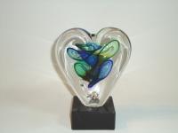 Mini-urn hartvorm voor ongeborene-prematuur kind