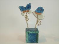 Mini urn vlinder-hart voor baby prematuur