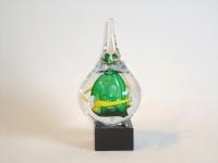 glazen druppel-urn