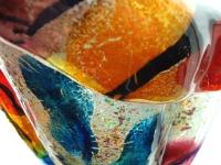 kleurrijke moderne urn-glas