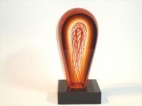 urn mini van glas-natuursteen