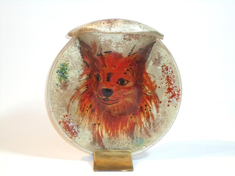 Honden urn van glas