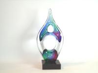 Glazen mini-urn verbondenheid