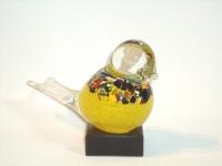 Urn vogel glas-natuursteen