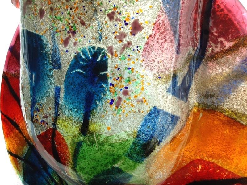 urn-glas-kleurrijk