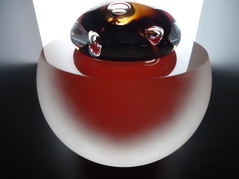 prachtige glazen urn klein