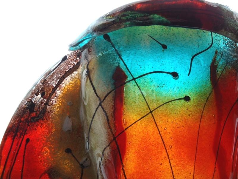 prachtige glazen (duo-)urn