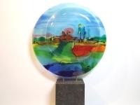 Urn glas - gedenkobject - Ellen Janssen