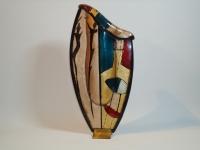 Urn in glas-brons