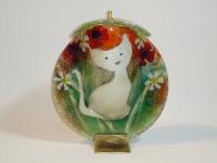 Urn kat van glas