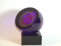 Urn klein van glas-natuursteen
