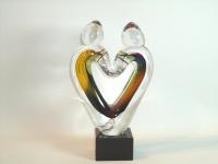 urn hart van glas