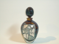 Kleine glazen urn