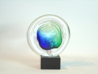 Urn mini van glas