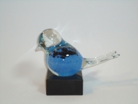 Urn vogel - glas-natuursteen