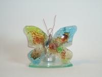 vlinder waxinelichtje voor urn kind-baby