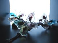 mooie glazen vlinders