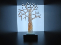 mini (duo-)urn glazen levensboom