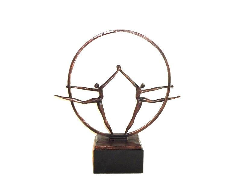 urn beeld brons saamhorigheid