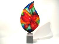mooi glas-object abstract-bloem