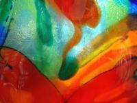 kleurrijk uniek fusing glas