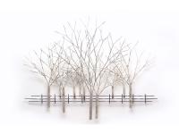 Winterse-bomen-object-in-metaal