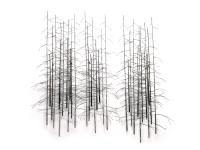 Winterbomen-metaal-object