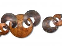 Metalen-wandobject-Interlink-verbondenheid