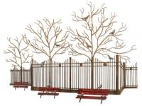 wandobject-met-duiven-in-bomen