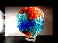bijzondere urn mini glas kleur