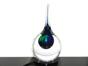 urn mini druppel glas