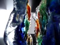 glazen urn exclusief klein