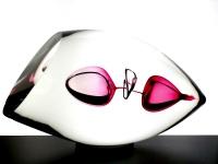 bijzondere glazen mini urn ring