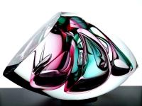 exclusieve glazen mini urn