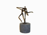 kleine urn gedenkobject brons