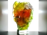 exclusieve unieke urn van glas