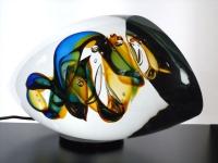glazen urn klein abstract verbondenheid