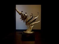 mini urn engelen bronzen gedenkbeeldje