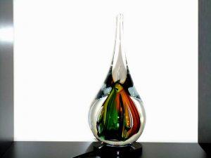 druppel urn glas ledverlichting
