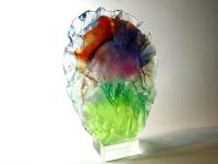 glazen mini urn uniek saamhorigheid